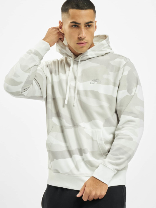 Nike Hoodies Sportswear Club kamufláž