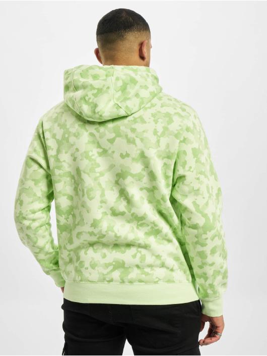 Nike Hoodies M Nsw Club Bb Camo zelený