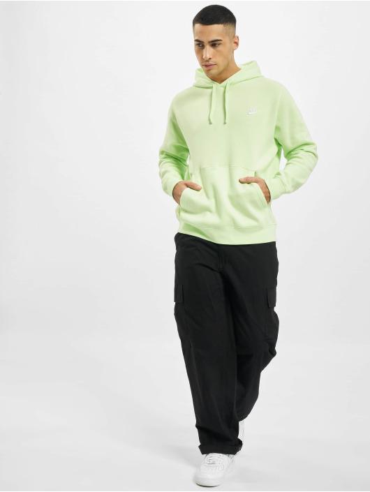 Nike Hoodies Sportswear Club zelený