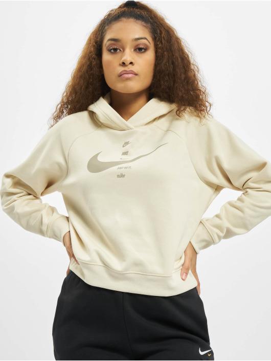 Nike Hoody Swoosh Fleece beige