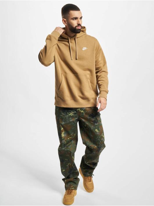 Nike Hoody Club Po Bb beige