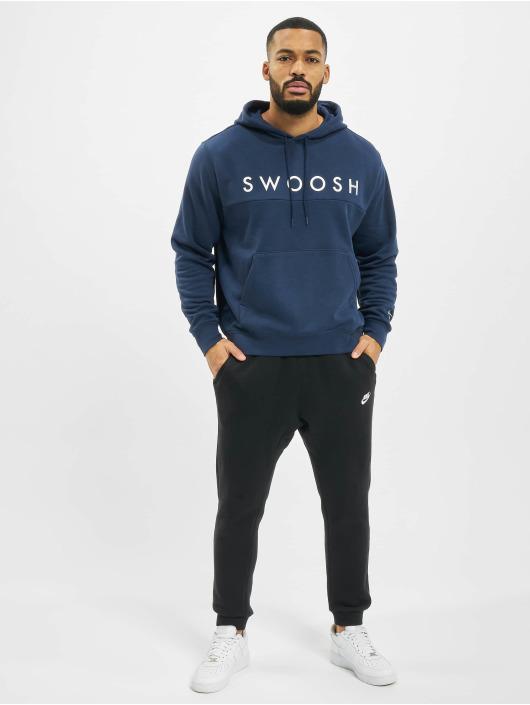 Nike Hoody Swoosh blau