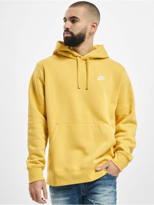 Nike Hoody Club gelb