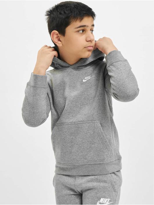 Nike Hoody Club PO grau