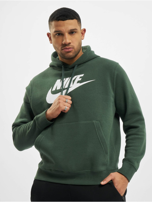 Nike Hoody Club grün