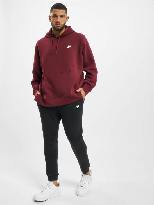 Nike Hoody Club rood