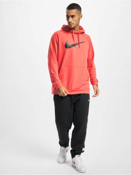 Nike Hoody Dri-Fit Swoosh rot