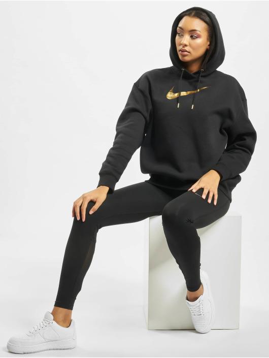 Nike Hoody BB OS Shine schwarz