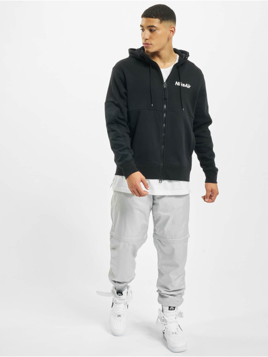 Nike Hoody Air Full Zip Fleece schwarz