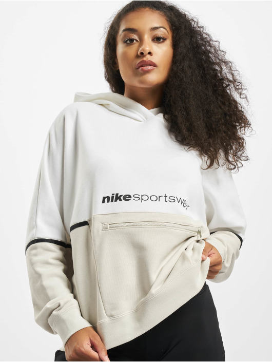 Nike Hoody FT Archive Remix weiß