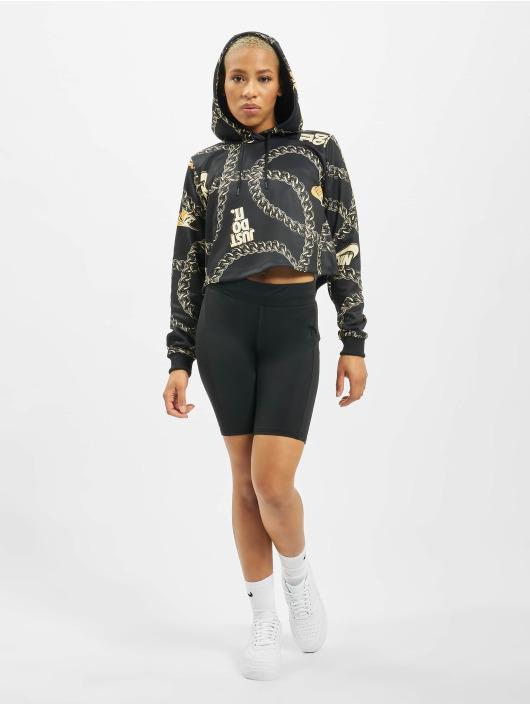 Nike Hoody Glam Dunk zwart