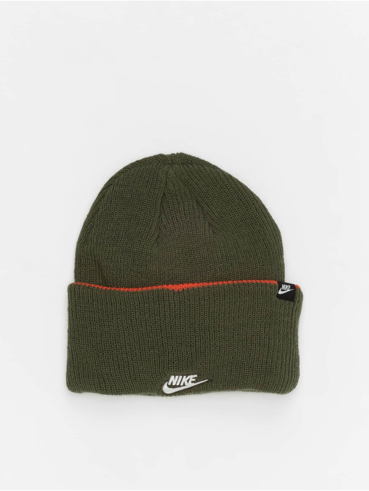 Nike Huer Cuffed Beanie 3 In 1 oliven