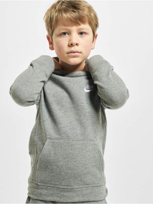 Nike Hupparit Club Fleece harmaa