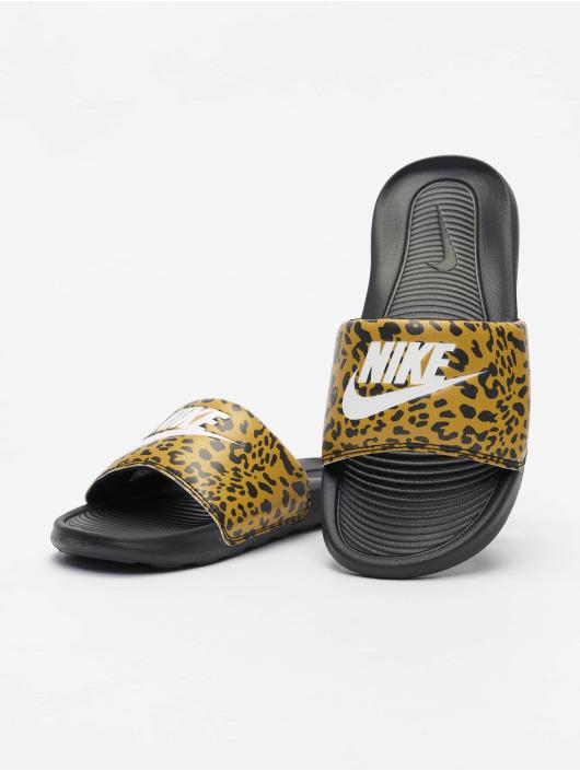 Nike Japonki W Victori One Slide Print brazowy