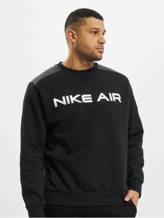 Nike Jersey M Nsw Air Flc Crew negro