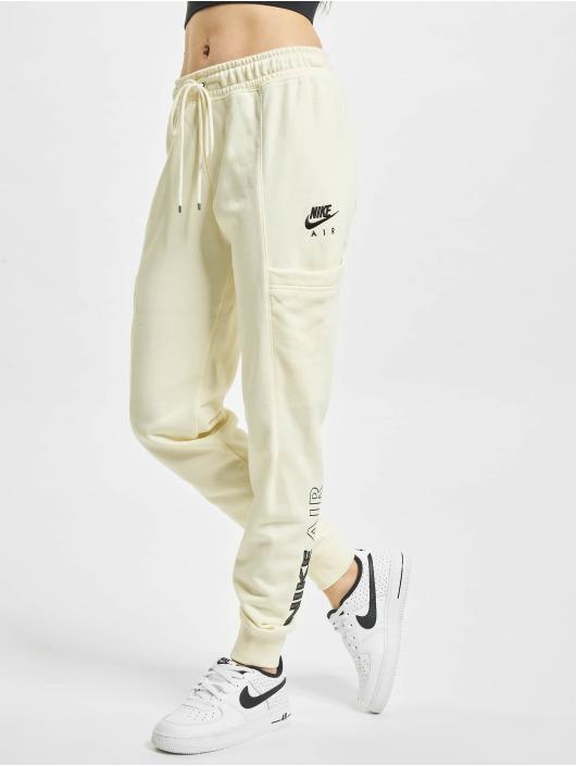 Nike Joggebukser W Nsw Air Flc Mr beige
