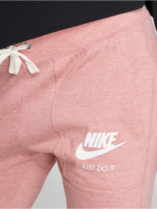 Nike Joggebukser Sportswear Gym lyserosa