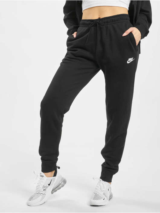 Nike Joggebukser Essential Regular Fleece svart