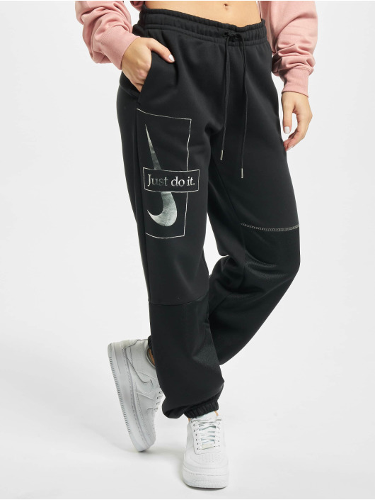 Nike Joggebukser Icon Clash Fleece svart