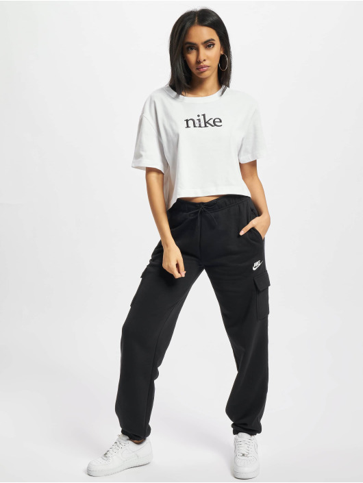 Nike Joggebukser Essntl Flc Cargo svart