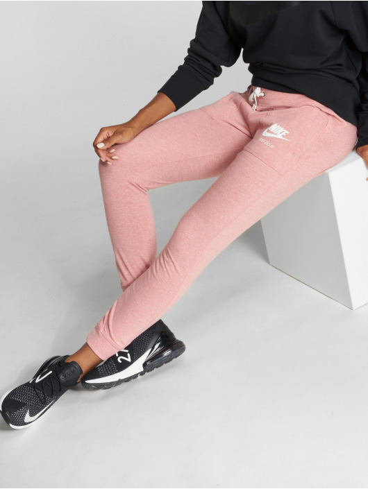 Nike Jogging kalhoty Sportswear Gym růžový