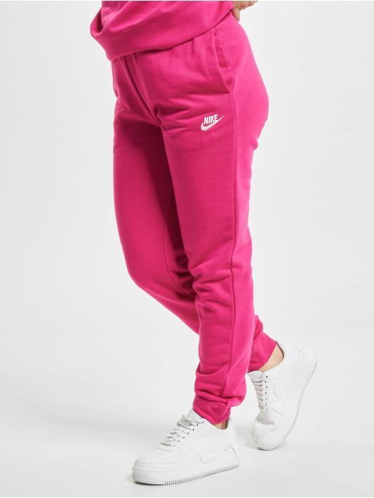 Nike Jogging kalhoty Essential Regular Fleece růžový