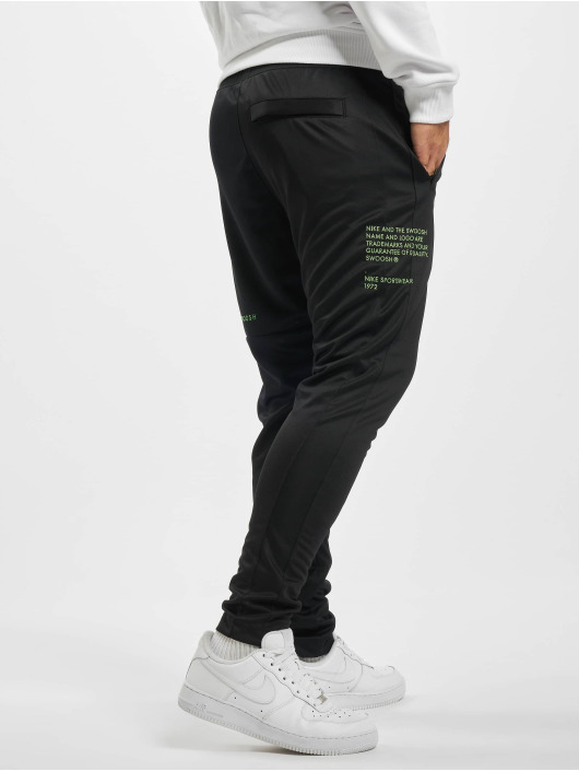 Nike Swoosh PK Sweat Pants BlackBlackEmber Glow