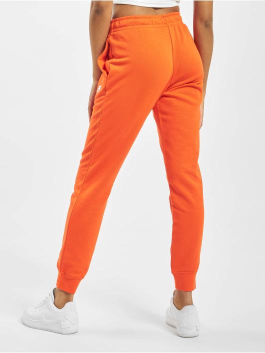 nike survetment orange feme