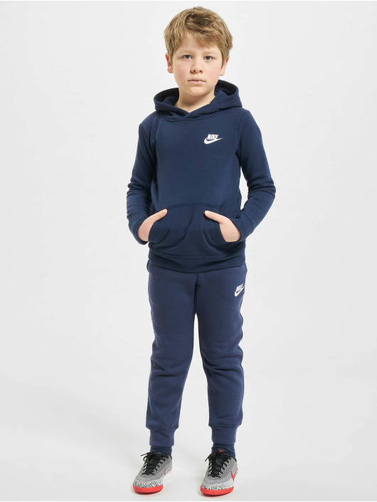 Nike joggingbroek Club Fleece Rib Cuff blauw
