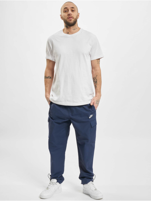 Nike joggingbroek M Nsw Ce Cf Wvn Players blauw