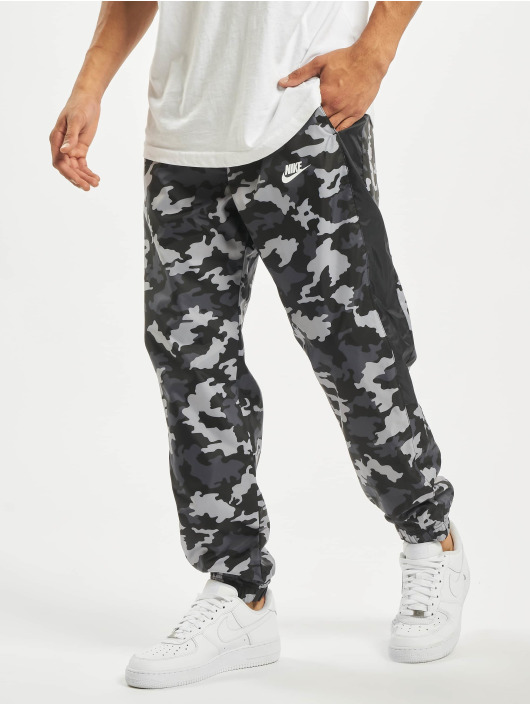 Nike joggingbroek CE CF Woven Camo zwart