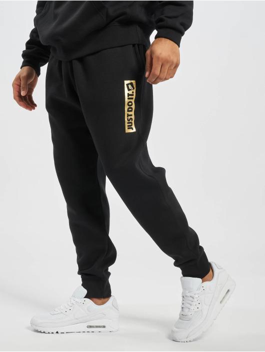 Nike joggingbroek JDI Metallic zwart