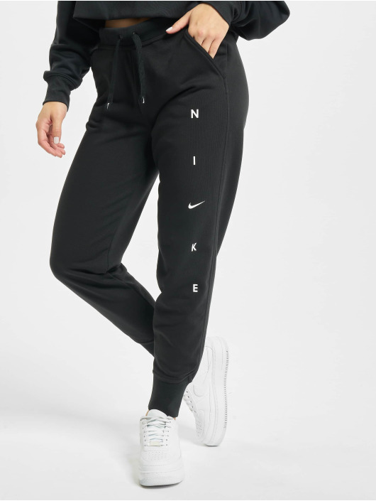 Nike Joggingbukser Dry Get Fit Flc sort