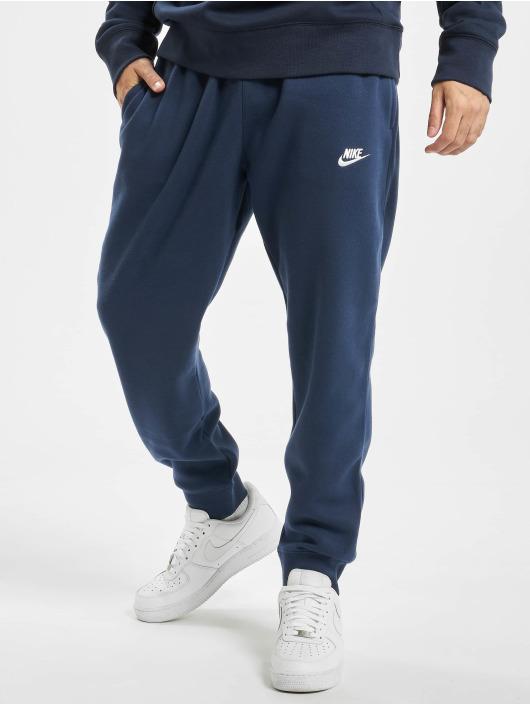 Nike Joggingbyxor Club blå