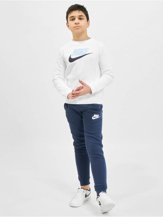 Nike Jogginghose Club Fleece blau