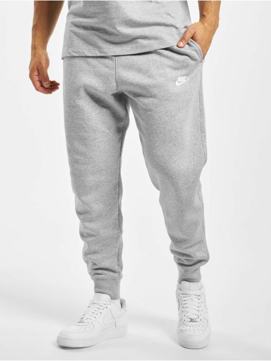 Nike Jogginghose Club Sweat grau