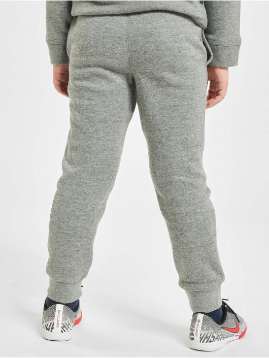 Nike Jogginghose Club Fleece Rib Cuff grau