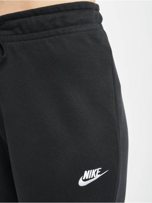 Nike Jogginghose Essential Tight Fleece schwarz