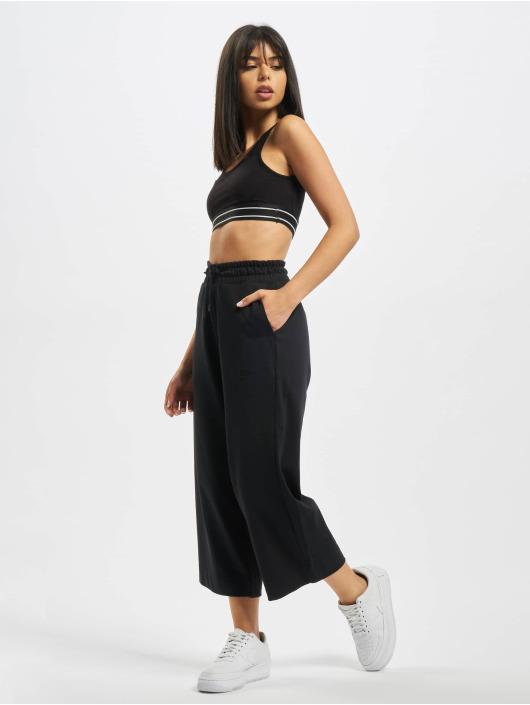 Nike Jogginghose Capri Jersey schwarz
