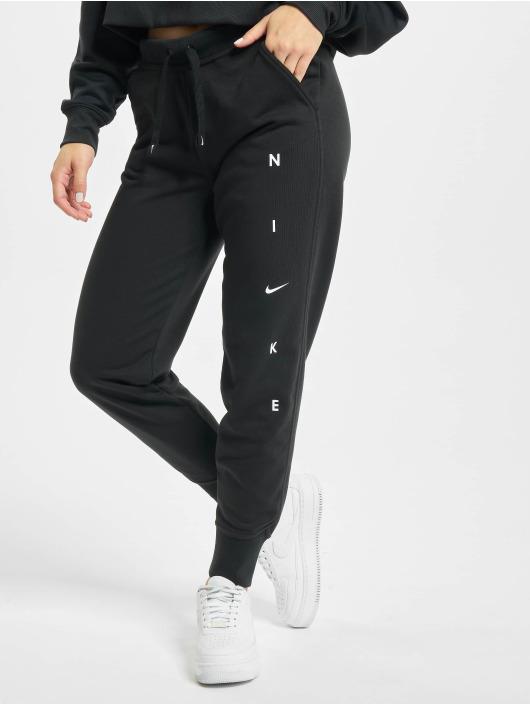 Nike Jogginghose Dry Get Fit Flc schwarz