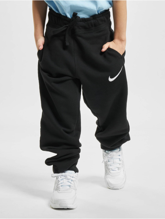Nike Jogginghose Fleece Swoosh schwarz