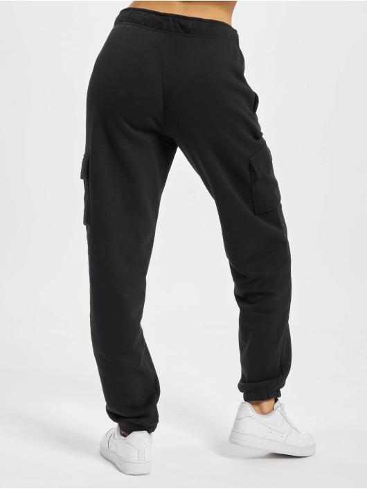 Nike Jogginghose Essntl Flc Cargo schwarz