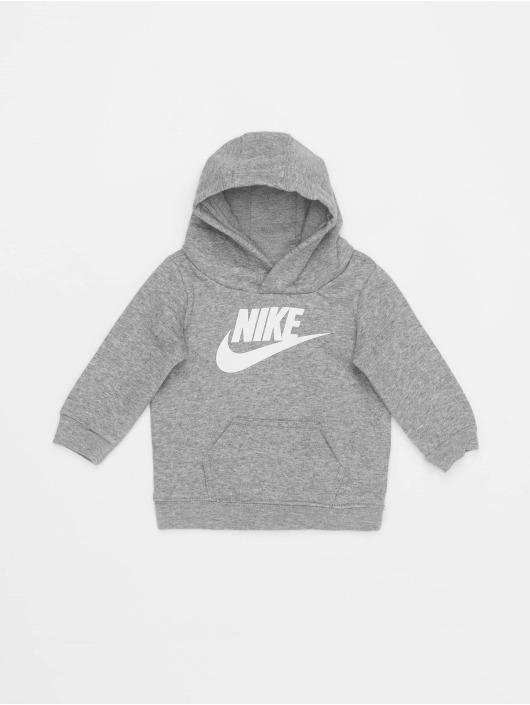 Nike Joggingsæt Nkb Club Flc Po Hoodie Pnt grå