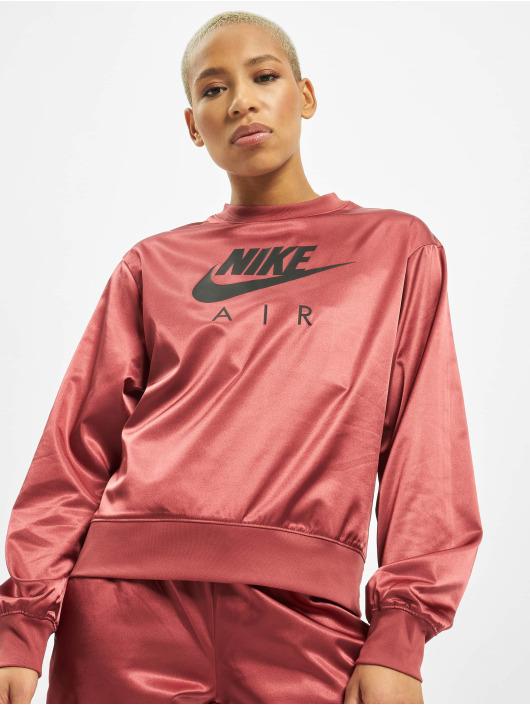 Nike Jumper Air Crew Satin red