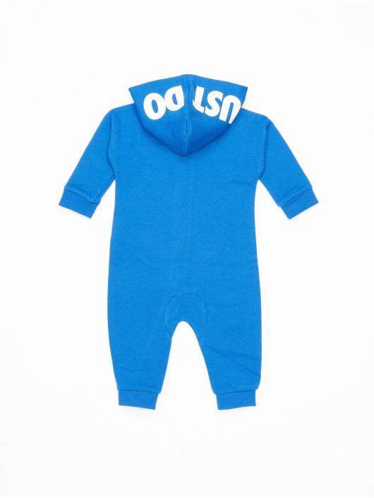 Nike Jumpsuit Nkn Hooded Baby Ft Coveral blau