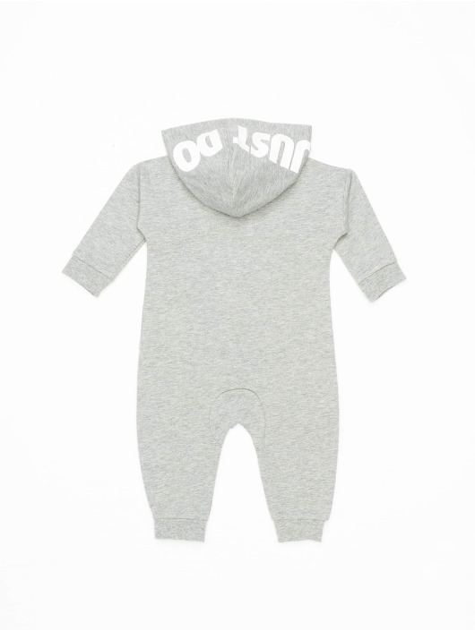 Nike Jumpsuit Nkn Hooded Baby Ft Coverall grigio