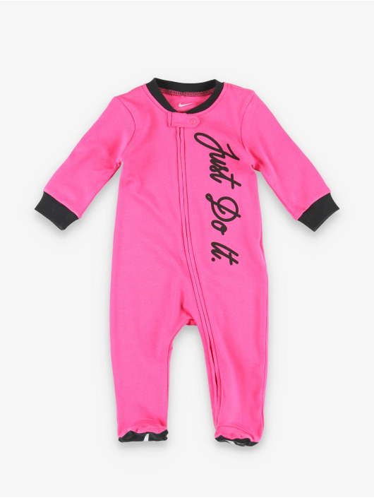 Nike Jumpsuit Nkg Jdi Footed Coverall W Hdbd pink
