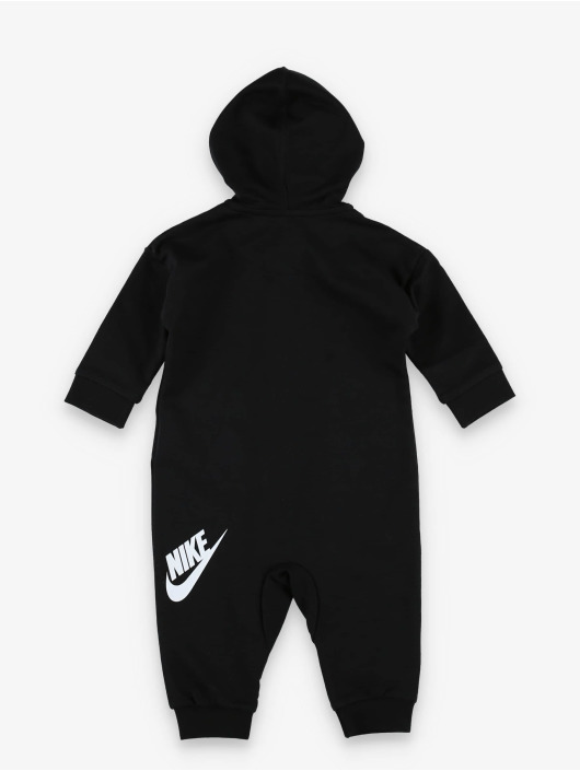 """Nike Jumpsuit Baby French Terry """"all Day Play"""" Coverall schwarz"""