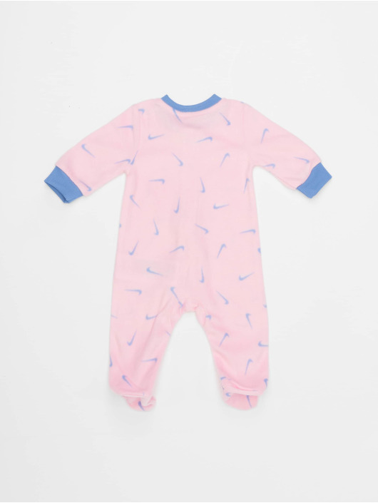 Nike Jumpsuits Nkg Swooshfetti Footed pink