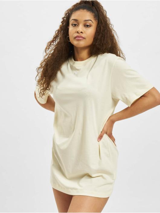 Nike jurk W Nsw Essntl SS beige